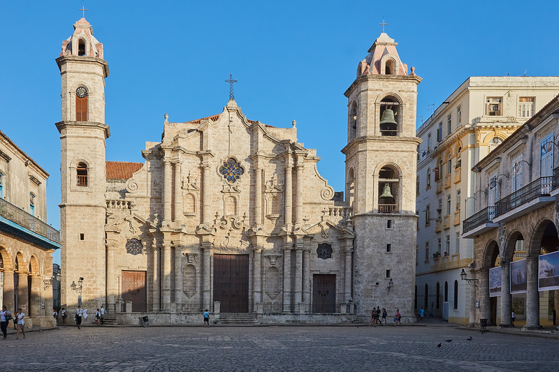 Catedral de San Cristóbal  (Cathedral of St. Christopher) located in Plaza de la Catedral