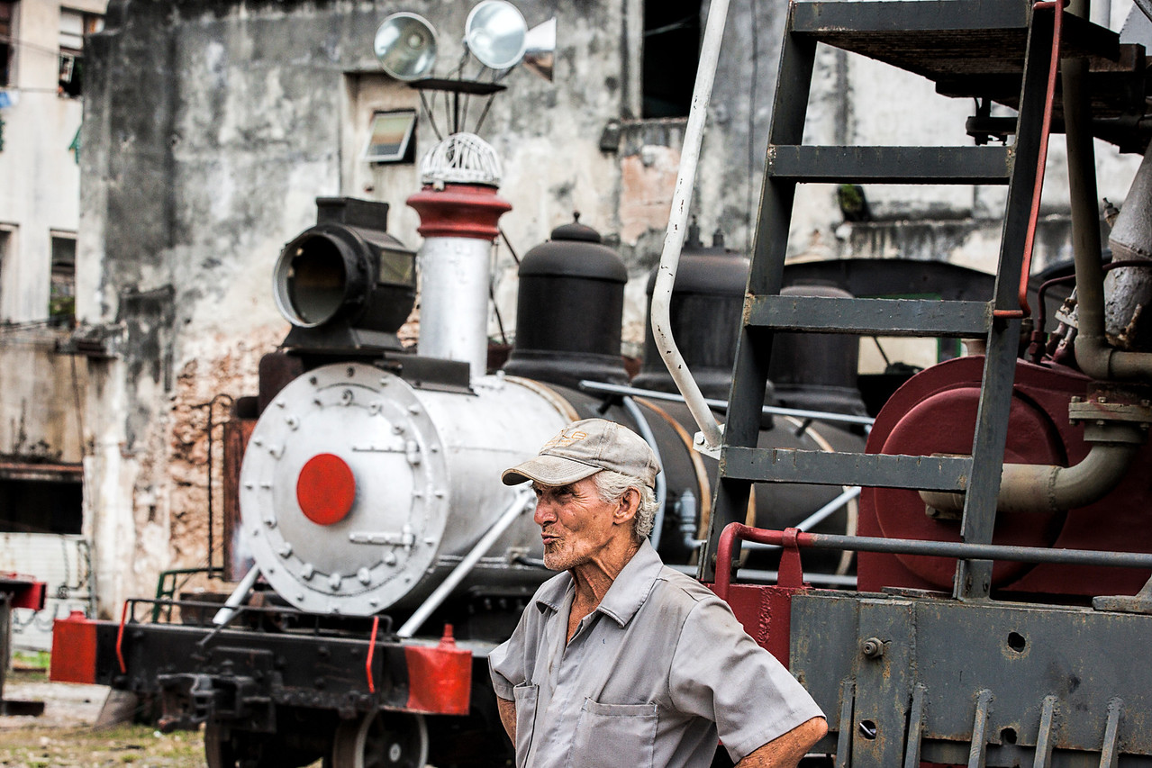 Rail Repair Yard in Havana