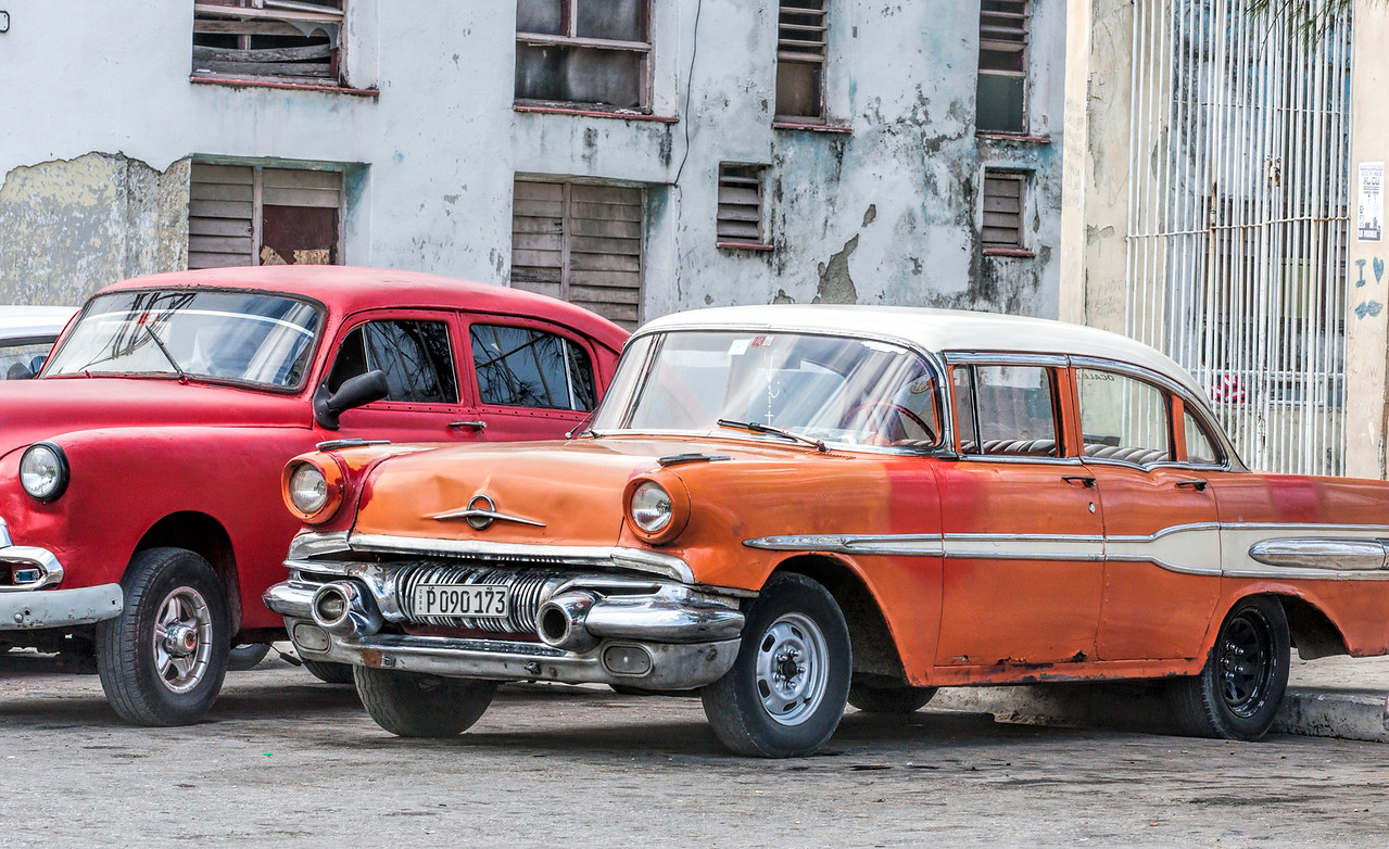 Historic American Car in Havana
