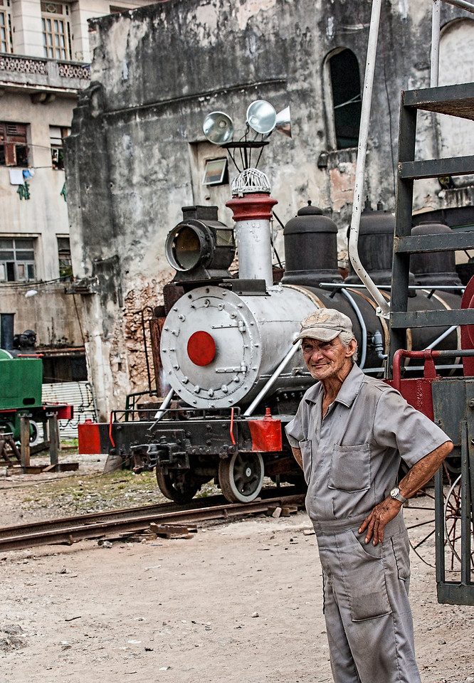 Historic American Steam Trains in Havana
