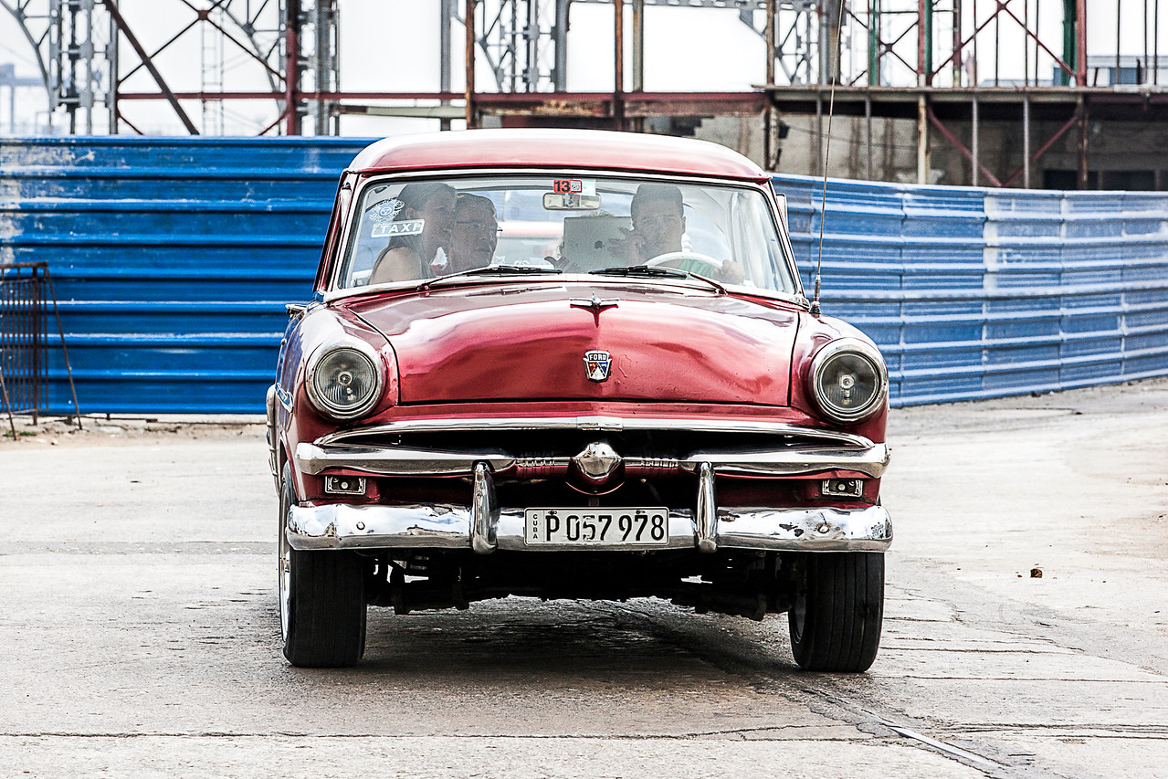 Historic American Car in Cuba