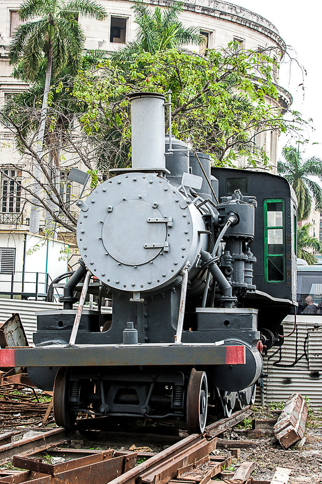 American Steam Train in Havana