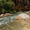 Boulders in Havasu Creek.