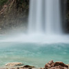 The foot of Havasu Falls.