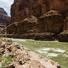 Rapids in the Colorado River from the junction with Havasu Canyon.