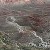 A view of Havasu Canyon from the Hilltop.