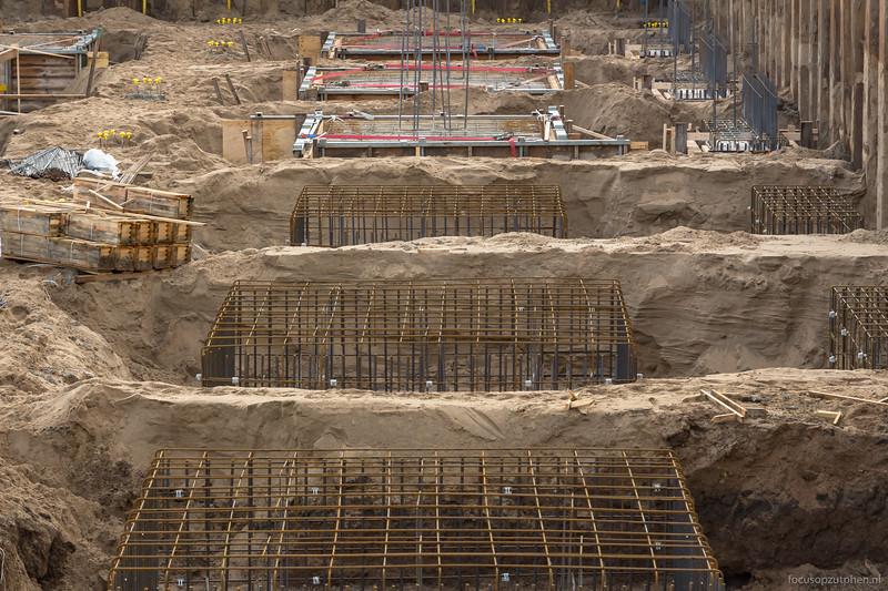 Nog meer beton gestort