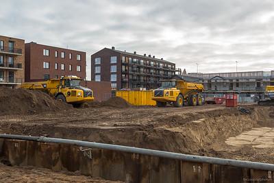 Uitdiepen van de bouwlocatie
