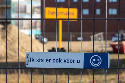 Achter het vriendelijke hek blijven a.u.b.