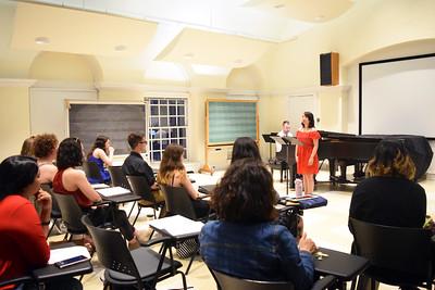 2018 Art Song Class Recital