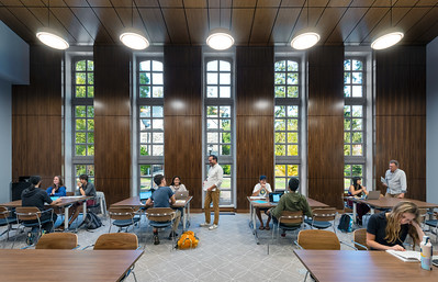 Lutnick Library Architectural Photos
