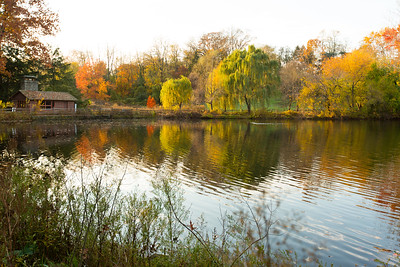 Lower Duck Pond in the Fall