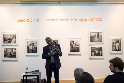 Gerald Cyrus talks about his photographs of Camden, Nj.