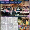 Floyd L Brandt Photojournalist<br /> Montana Seed Show judging the quality of seed in the area <br /> March 03, 2017 Harlum, Montana<br /> High Line Living