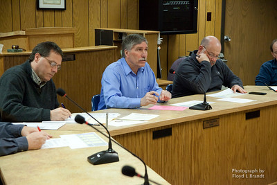 Havre Daily News/Floyd Brandt  Havre City Council