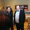 Havre Daily News/Floyd Brandt<br /> <br /> Democrats held a fundraiser at the Eagles Club with State Congressman Jacob Bachmeier and U S Senator Jon Tester to raise fund for candidates running against Republican Greg Gianforte Saturday Oct 21, 2017 Havre, Montana