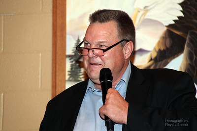 Havre Daily News/Floyd Brandt  Democrats held a fundraiser at the Eagles Club to raise funds for candidates in the upcoming 2018 election which Senator Jon Tester will be up for re-election Saturday Oct 21, 2017 Havre, Montana