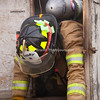 "Havre Daily News/Floyd Brandt<br /> <br /> Smoke poured out of a trailer parked at the Havre Fire Department where Firefighter Austin Shupe exits the Confined Space Training trailer Monday . The traing helps the firefighters prepare themselves for entering a fire that may be very confining and dangerous. Assisant Fire Chief Kelly Jones said that it gives his firefighters a chance to get use to their equipment and gear in small spaces and to look out for hazards. For Fire Fighter Chris Cox, ""It was tight and you can't see anything but it was a lot of fun,"" he said."