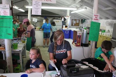 Havre Daily News/Floyd Brandt  4H Chuckwagon Blain County Fair Saturday
