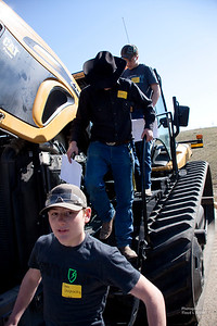 Havre Daily News/Floyd BrandtMontana State University Northern is hosted the 9th Annual TekNoXpo (Technology-Knowledge-Exposition) Thursday. High school students from around Montana were exposed to programs offered at MSU-N, Technical Sciences Agriculture, Automotive Technology, Construction Careers Technology, Diesel Technology and Nursing. Students had hands on operation to experience what each field would be like.Dane Chojnacky, from Thompson Falls, Zach Olson from Chinook and Garret Jones also from Thompson Falls finding out about a tractor.