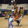 Havre Daily News/ Floyd Brandt<br /> <br /> Sweetwater Pow Wow at Montana State University Northern April 01, 2017 Havre, Montana.