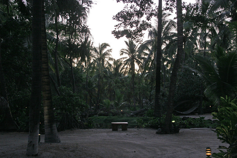 Dusk at Kona Village