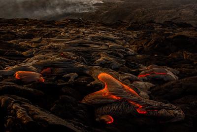 Kilauea Lava Flow...