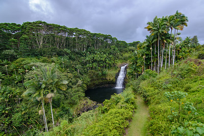 The path to Kulaniapia Falls