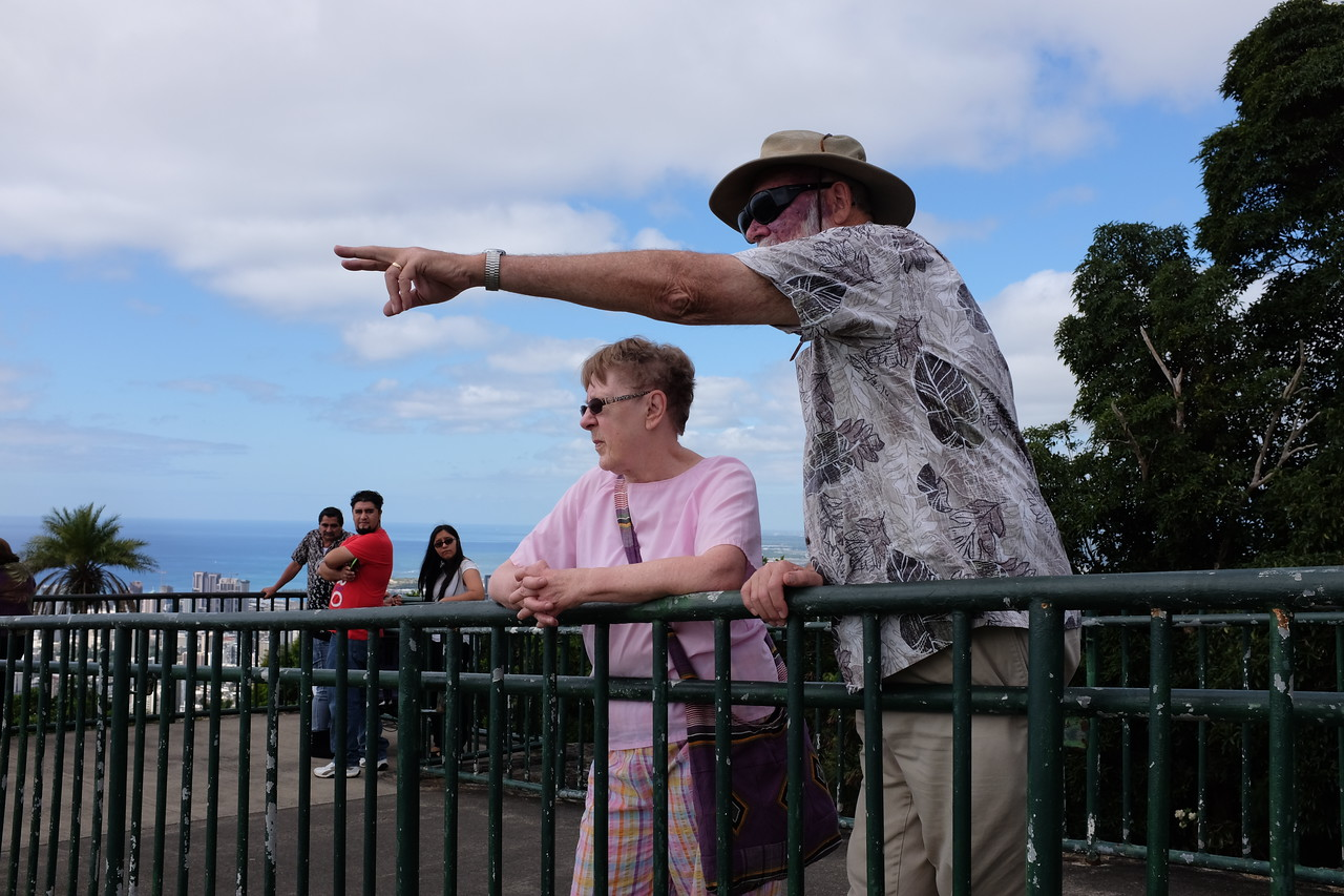 Tantalus Lookout, Honolulu