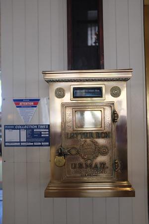 Old-style letter box, Moana Hotel, Waikiki