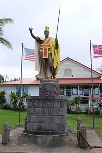 King Kamehameha monument, Kapa'au