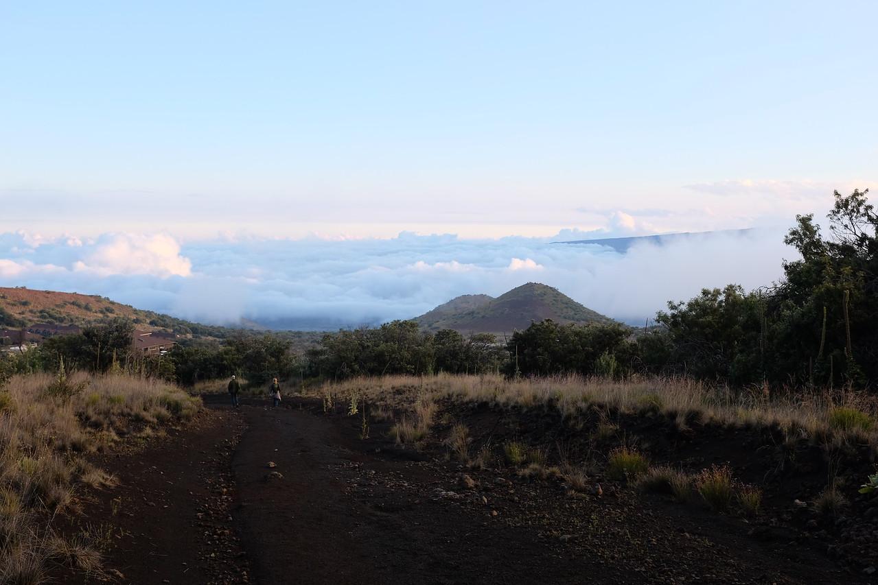 Above the clouds on Mauna Kea