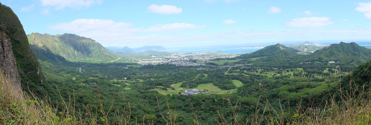 Panorama, Nu'uanu Pali lookout