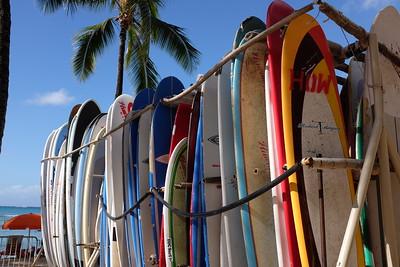 Surfboards, Waikiki