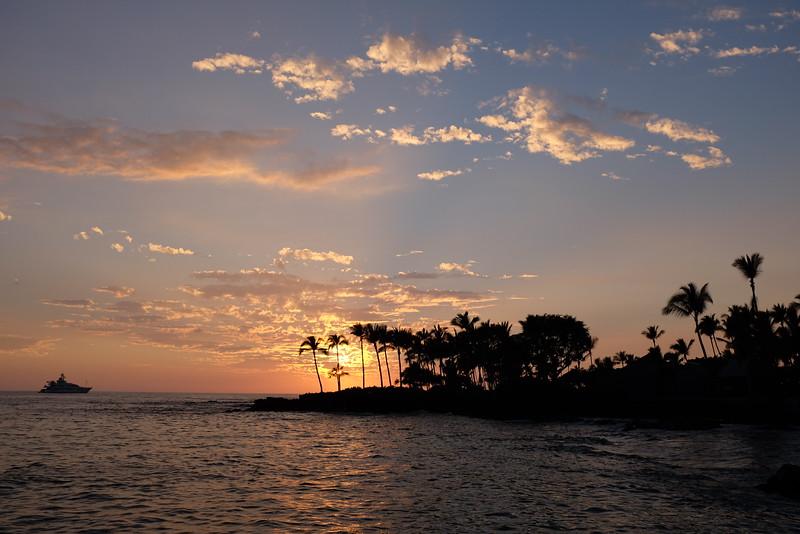 Sunset from Kailua Pier