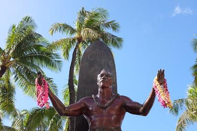 Duke Kahanamoku sculpture