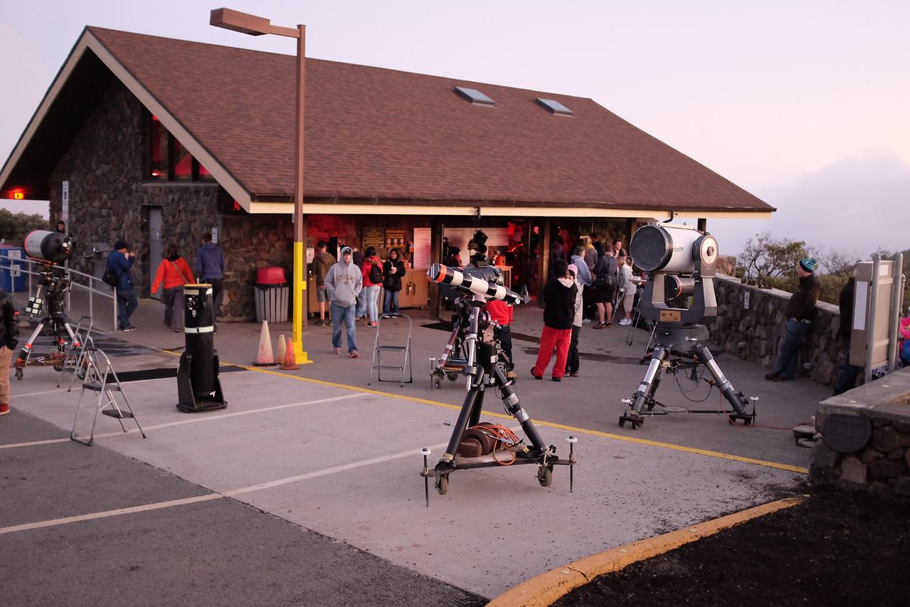 MKVIS with telescopes