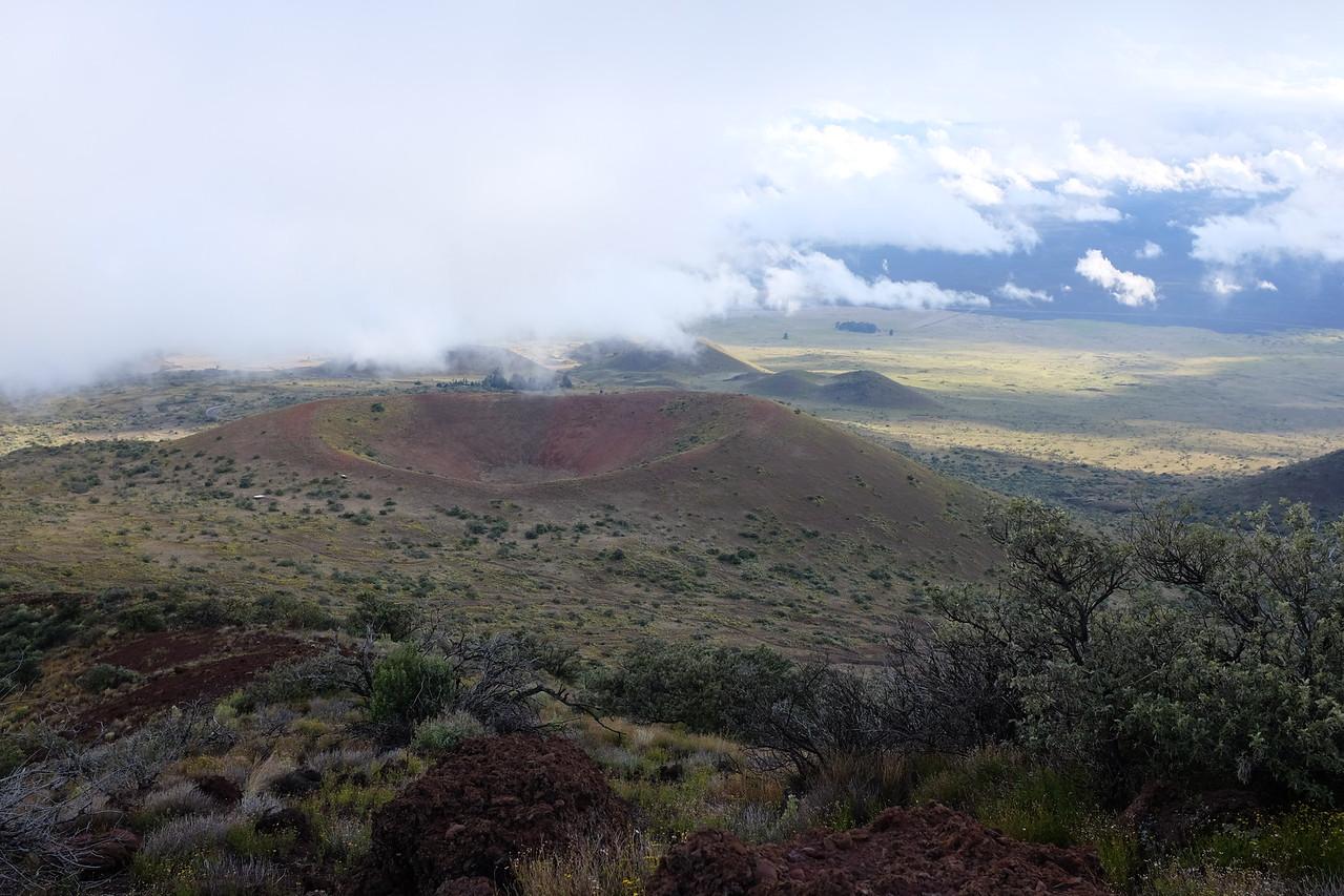 Crater south of Pu'u Kalepeamoa