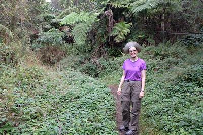 Jennifer in the cloud forest