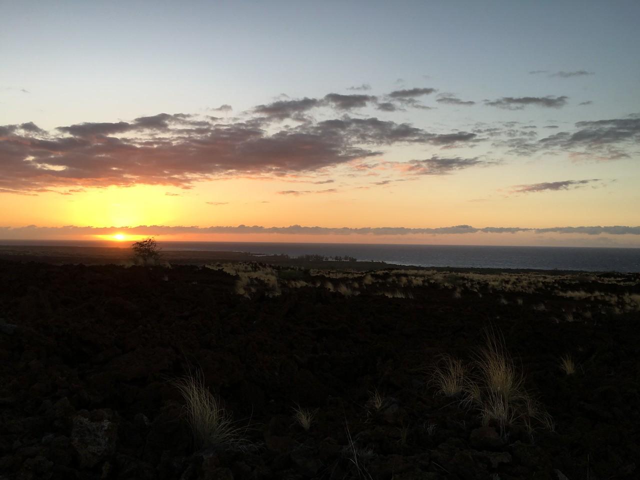Sunset, Kekaha Kai State Park, Kailua-Kona