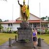 King Kamehameha statue in Kapa'au