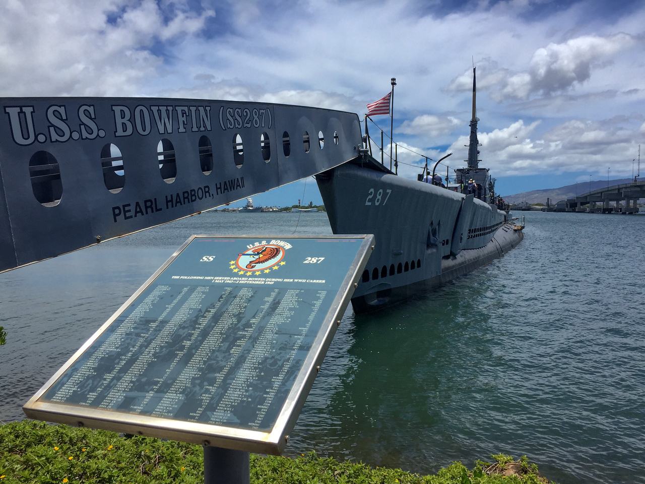 Hawaii 2017; USS Bowfin Pearl Harbor and USS Arizona Memorial. Oahu: Waikiki and Honolulu