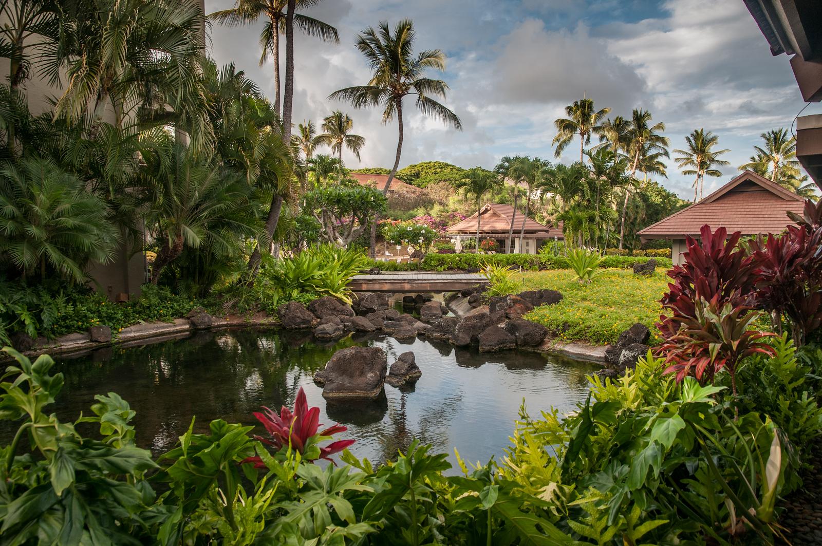 Hawaii 2017; Kauai. Sheraton Hotel at Po'ipu Beach Park