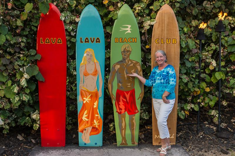 Ellie Visits the Lava Lava Beach Club