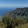 Na Pali Coast from the Kalalau Lookout