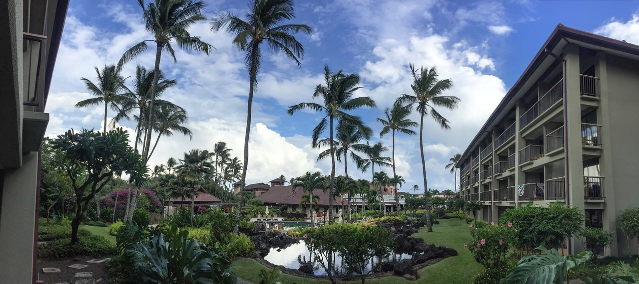 Hawaii 2017; Kauai. Sheraton Hotel at Po'ipu Beach Park