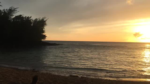 Hawaii 2017; Kauai. Ke'e Beach for sunset