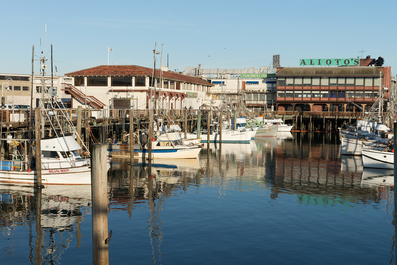 Well Known San Francisco Wharf restaurant