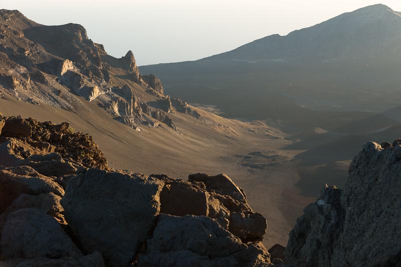 Landscape Created by Volcanic Eruption on Haleakala