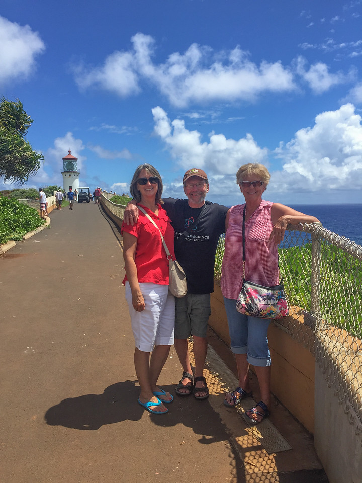 Hawaii 2017; Kauai. Drive south to Po'ipu, Princeville, Kilauea, and Wailua